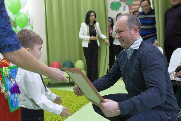 Виталий Кушнарев принял участие в открытии детского сада «Жемчужина»